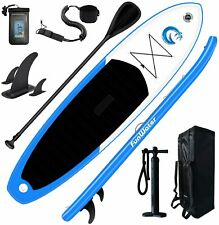 FunWater SUP Inflatable Stand Up Paddle Board 11'/10'6'' Paddleboard with Inflat