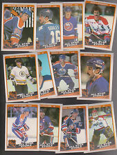 1984 OPC Team SET lot of 12 NHL ALL STARS NM/MT o-pee-chee GRETZKY BOSSY BOURQUE