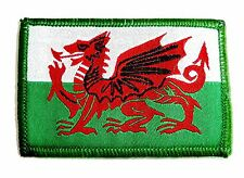 EMBROIDERED WALES PATCH velcro Welsh Dragon cloth badge Military soldier army