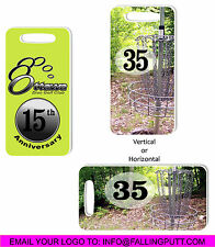 Disc Golf Bag Tags / Custom / No Art Fees / 106.20 For 36 / Only $2.95 Ea