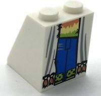 2 Slope 65° 2 x 2 x 2 w Center Tube 3678 BLACK LEGO Parts~