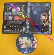 DVD film UN LUPO MANNARO AMERICANO A LONDRA John Landis ED. MASTER no vhs (D6)