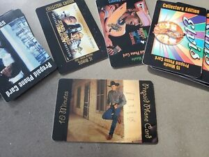 GEORGE STRAIT Collectible 10 Minute Phone Card 1998 MCA Nashville Records Unused