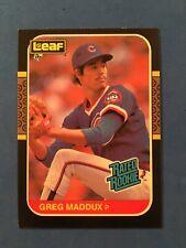 1987 Donruss Leaf Greg Maddux NM-MT