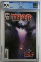 THOR #4 2ND PRINT CGC 9.4 1ST APP BLACK WINTER CAMEO ✅ DONNY CATES KNULL THANOS