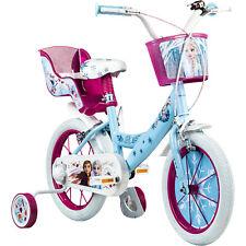 Kinderfahrrad 14 Zoll Mädchenfahrrad Disney Frozen ab 3,5 Jahre Kinder Fahrrad