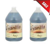 (2 PACK) 1 Gallon Imitation Vanilla Flavor Cookies Cakes Cupcakes Pantry Supply
