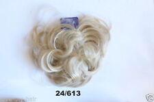 Perruques, extensions et matériel cheveux synthétiques blonds sans marque pour femme