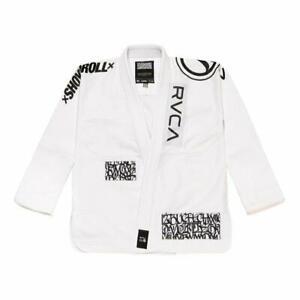 GB Shoyoroll RVCA BJJ Gi-Jiu-jitsu New white,Black Batch 105 Uniform /MMA Suit