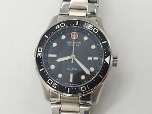 Swiss Military Hanowa Aqualiner Men's Silver S/S Watch 06-5213.04.007