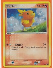 Pokemon 1 x TORCHIC Black Star Promo # 017  Holo Foil As New c.2004
