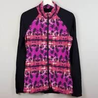 LORNA JANE | Womens Palm Tree zip up Jacket [ Size L or AU 14 / US 10 ]