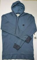Billabong Men's Keystone Thermal Pullover Hoodie Navy Large NWT SHIPS FAST