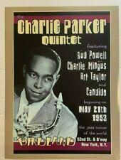 "CHARLIE PARKER A4 GLOSS POSTER PRINT LAMINATED 10.6/""x8.3/"""