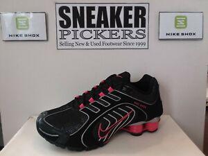 Nike Womens Shox Navina - 356918 062 - Black Sparkle / Pink Spark - Size: 7