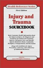 Injury and Trauma Sourcebook (Health Reference Series) [Library Binding] [Jan ..