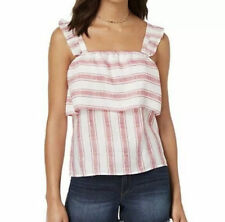 Nwt Crave Fame By Almost Famous Trim Ruffle Tank Top Blouse Medium