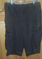 Vintage Arizona Jean Co. Cargo Shorts Men's Size 30 1988 on button
