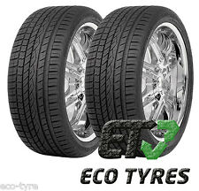 2X Tyres 295 35 R21 107Y XL Continental ContiCrossContact UHP MO E A 76dB