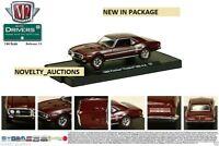 M45 11228 33 M2 MACHINES AUTO DRIVERS 1968 PONTIAC FIREBIRD 400 HEAVY DUTY 1:64