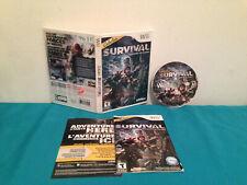 Cabela's Survival Shadows of Katmai (Nintendo Wii) Case-disc & manual