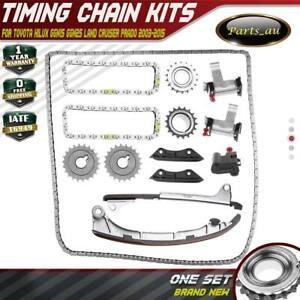 Timing Chain Kits for Toyota Hilux GGN15 GGN25 Land Cruiser Prado GRJ120 4.0L