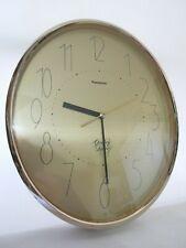 Vintage Panasonic Gallery Quartz Wall Clock Matsushita Movement Made in Japan