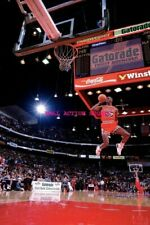 24 inch by 36 inch NBA Basketball Art Photo Poster 1985 NBA Dunk Contest A