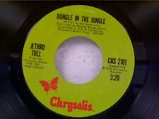 """JETHRO TULL """"BUNGLE IN THE JUNGLE / BACK DOOR ANGELS"""" 45"""