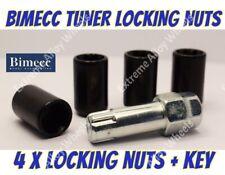 Locking Wheel Nuts B Tuner M12x1.5 Fits Honda Concerto Cr-v Cr-z Crx Fr-v Hr-v