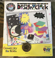 """""""For Your Room"""" Series, Tick Tock Design a Clock BATTERY-Operated Toy NIB Model"""