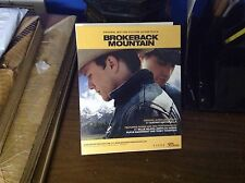 Promo Brokeback Mountain stand Up. 2-sided 7x6inch film Lgbt Heath Ledger 1