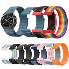 For Samsung Gear S3 Frontier/Classic 20/22mm Replacement Nylon Wrist Watch Band