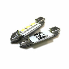 2x FIAT TEMPRA 159 Bright Xenon Bianco 3SMD LED Canbus Targa Lampadine