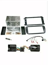 CT24FD15 FORD MONDEO MK4 2007 to 2014 BLACK SINGLE DIN FASCIA ADAPTER PANEL