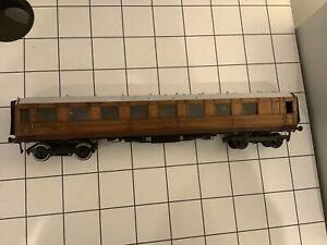 O Gauge LNER Teak Bogie 3rd Coach 8052 Leeds Model Company ?