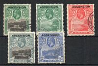 Ascension 1922 St Helena opt values to 3d FU CDS
