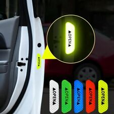 UK 4 x Car Door Safety Stickers Open Sign Reflective Tape Warning Mark Universal