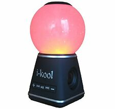 I-kool 4 Changing Colors Water Dancing Speaker Bluetooth 4.0 Wireless (Globe Bla