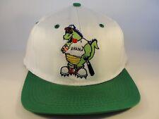 Champ Lake Champlain Monster Vintage Snapback Cap Hat White Green