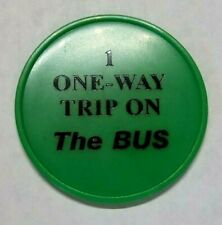 ELKHART IN TRANSIT TOKEN 260F 1 ONE WAY TRIP ON THE BUS