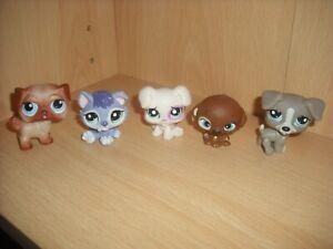 Littlest Pet Shop LPS Figures Dogs & Puppy Husky Hasbro