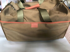 "vintage HARTMANN Ballistic Nylon carry on duffle bag 17""x 10"" 10""    E"