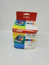 Canon BC-33  Printhead and (4) Ink Tank Combo Pack damaged box