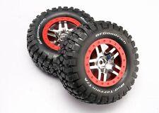 Traxxas Reifen auf Felge chrome Slash 4x4 - TRX6873A