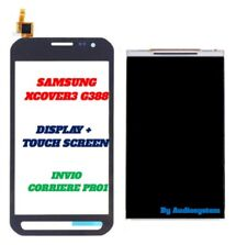 DISPLAY LCD +TOUCH SCREEN per SAMSUNG GALAXY X-COVER 3 SM-G388 G388F XCOVER NERO