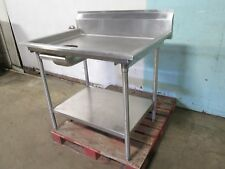 """Eagle"" Heavy Duty Commercial S.S. (nsf) 43""W Dough Prep Table w/Trim Drawer"