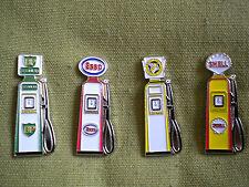 Juego De 4 Bomba De Gasolina Pin insignias, BP, Esso, nacionales de benzol & Shell