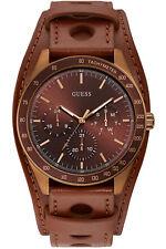 Reloj Hombre GUESS GENTS TREND W1100G3 de Cuero Marr¾n