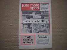 AUTO MOTO SPORT 16 1975 NURBURGRING GP F1 HESKETH 308 C CROSS MAICO KTM CZ 400